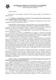 CENTRO DE COMUNICAÇÃO SOCIAL DA ... - Marinha do Brasil