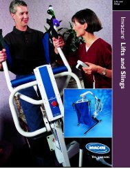 Invacare Lifts and Slings - Medical Department Store
