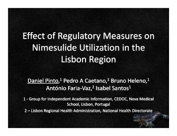 Effect of Regulatory Measures on Nimesulide Utilization in the ...