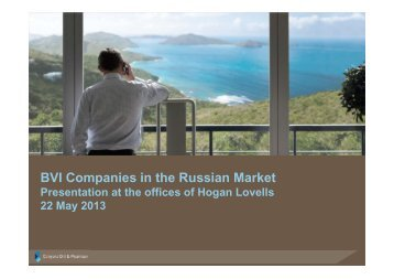 BVI Companies in the Russian Market