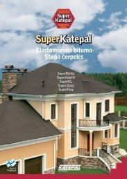 Elastomerinio bitumo stogo čerpelės katalogas