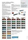 Elastomerinio bitumo stogo čerpelės katalogas - Page 4