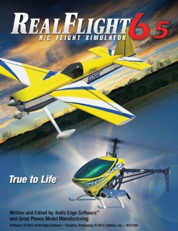 RealFlight 6.5 Manual (36.7 MB) - Knife Edge Software