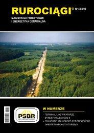 Pobierz cały numer Rurociągi 4/2009 (pdf)