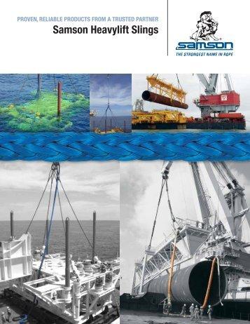 Offshore Sling Brochure - Samson Rope