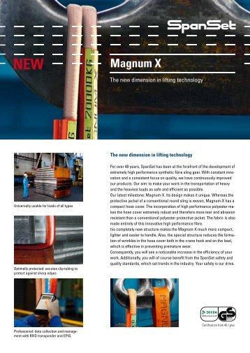 Round sling Magnum-X - SpanSet
