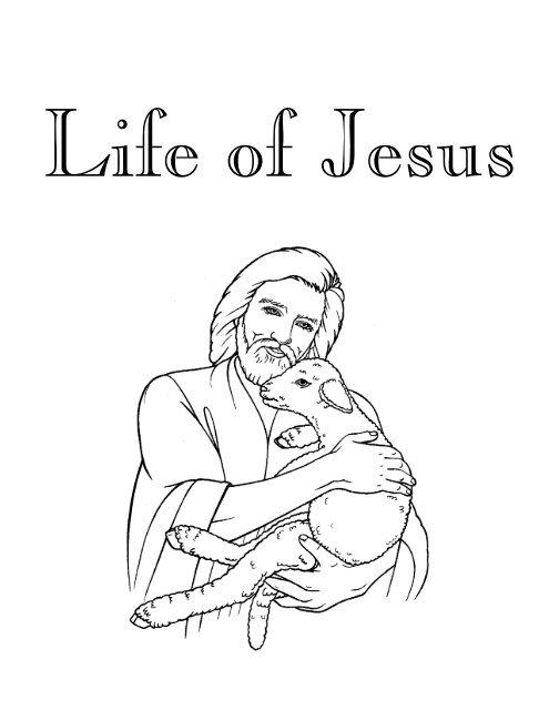 Coloring Book Of Jesus 2 Temkit