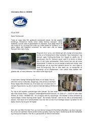 Information Brev nr. 06/2008 02 juli 2008 Kære Tierfreunde! Trods et ...
