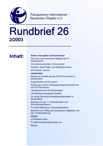 Rundbrief 26 (3).pub - Transparency International