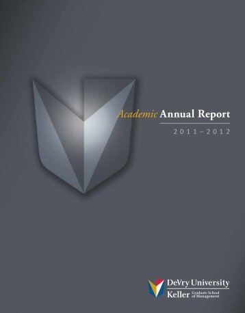 Academic Annual Report