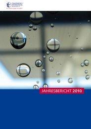 JAHRESBERICHT 2010 - Transparency International