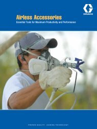 Airless Accessories - charmans