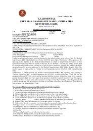 esihospital sree maa anadmayee marg , okhla ph-1 new delhi ...