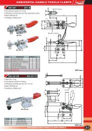 Download Horizontal Toggle Clamps Catalogue - Good Hand UK