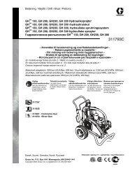 Инструкция по эксплуатации - Оборудование Graco
