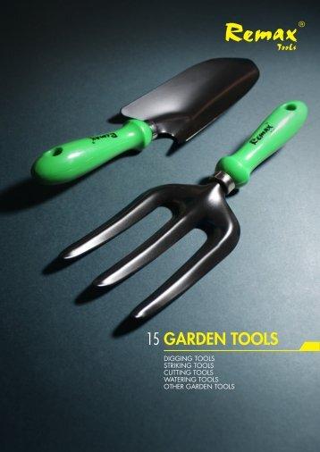 GARDEN TOOLS 15 - Remax Tools