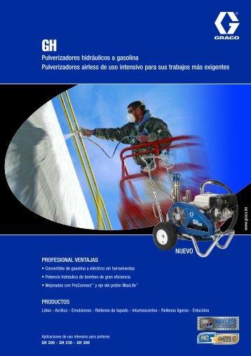 320585S , GH Pulverizadores hidráulicos a gasolina - TECMAPRO