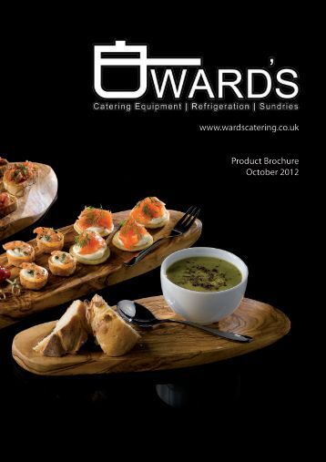 download the full catalogue - Wards Catering