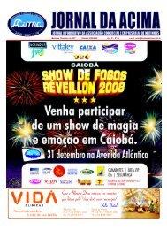 Matinhos, Dezembro de 2007 - Diretoria 2006/2008 - Ano IV ... - Acima