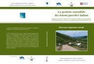 Macroarea Appennino centrale - Regione Piemonte