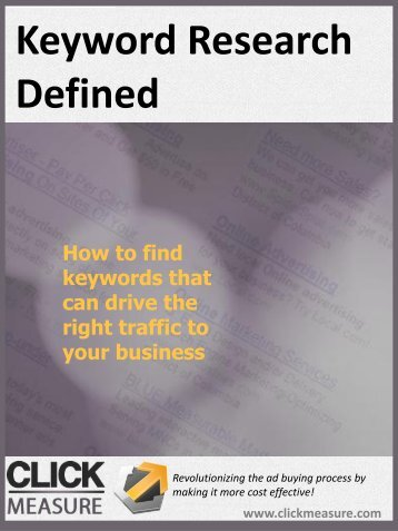 Keyword-Research-Defined