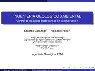 Control de las aguas subterráneas en la construcción - ferrersl.com