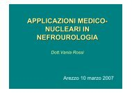 nucleari in nefrourologia - Centro Francesco Redi