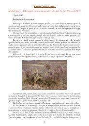 Maria Valtorta – L'Evangelo – 594 – 595 – Martedì Santo - Biblioteca