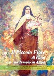 Il Piccolo Fiore - Provincia Romana dei Padri Carmelitani Scalzi