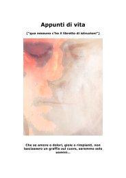 Appunti di vita - Roberto Mazzuia