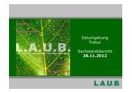 Vorlage von l.a.u.b. als Grundlage des ... - Gemeinde Trebur