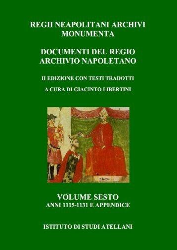 Attuario Michele Guerra, Documenti per la città di Aversa, Aversa ...