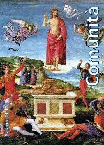 """""""Comunità"""" - Pasqua 2013 - collaborazione pastorale volpaghese"""