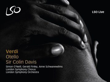 Verdi: Otello - Sir Colin Davis - London Symphony Orchestra