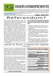 Maggio - giugno 2011 - politica