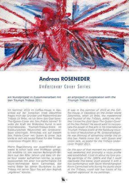 Andreas Roseneder - UNDER COVER
