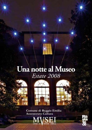 Una notte al Museo Estate 2008 - Aicod