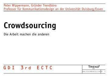 Crowdsourcing - Trendbüro