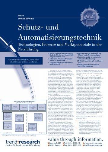 Schutz- und Automatisierungstechnik - trend:research