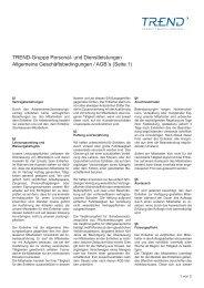 Seite 1 - Trend Personal