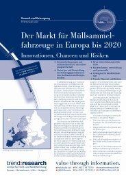 Der Markt für Müllsammelfahrzeuge in Europa bis ... - trend:research
