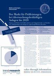 Der Markt für Prüfleistungen bei ... - trend:research