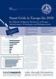 Smart Grids in Europa bis 2030 - trend:research