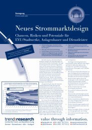 Neues Strommarktdesign - trend:research