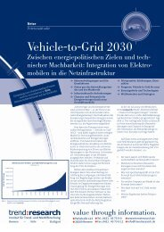 Vehicle-to-Grid 2030 - trend:research