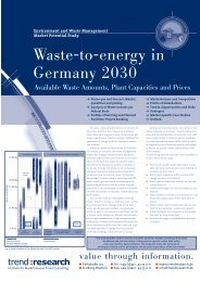 Environment and waste management market ... - trend:research