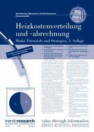 Heizkostenverteilung und -abrechnung - trend:research