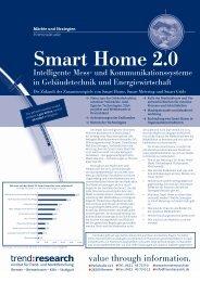 Smart Home 2.0 – Intelligente Mess- und ... - trend:research