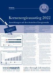 Kernenergieausstieg 2022 - trend:research
