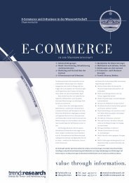 E-COMMERCE - trend:research